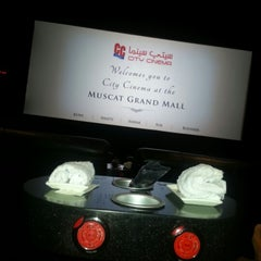 Photo taken at City Cinema, MGM by Maha A. on 1/5/2013