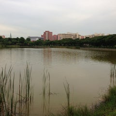 Photo taken at Punggol Park by Helny L. on 5/1/2013