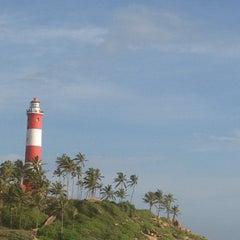Photo taken at Vizhinjam Lighthouse by Kavya R. on 8/21/2013