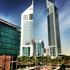 Photo taken at Emirates Towers أبراج الإمارات by André A. on 1/27/2013