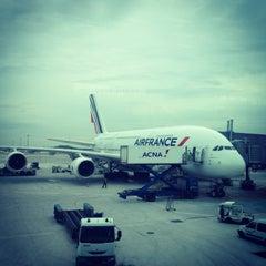 Photo taken at Air France - Flight AF 7 by Ed K. on 1/16/2013