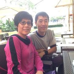Photo taken at The American Club Hong Kong 美國會 by Hannah K. on 11/10/2014