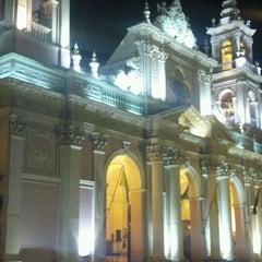Photo taken at Plaza 9 de Julio by Nicolas R. on 5/2/2013