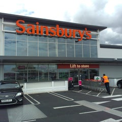 Photo taken at Sainsbury's by Lord Tony on 8/22/2014