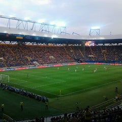 Photo taken at ОСК «Металіст» / Metalist Stadium by Tatyanka G. on 5/22/2013