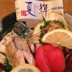 Photo taken at 鳥取の地酒と魚 てんまり by Martin H. on 8/21/2013