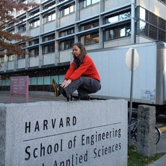 Photo taken at Maxwell Dworkin by m.c. p. on 11/18/2013