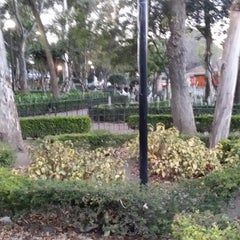 Photo taken at Parque Allende by Carlos M T. on 1/9/2014