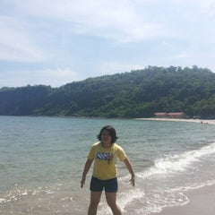 Photo taken at Marine Base Ternate Beach Resort by Cylea L. on 8/21/2014