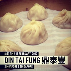 Photo taken at Din Tai Fung 鼎泰豐 by David C. on 2/18/2013