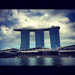 Photo taken at Marina Bay Sands Casino by David C. on 1/27/2013