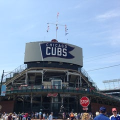 Photo taken at Wrigley Field by Jamalyn B. on 6/23/2013