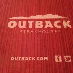 Photo taken at Outback Steakhouse by Lauren M. on 2/17/2013