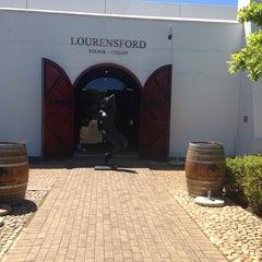 Photo taken at Lourensford Wine Estate by 💎Vera💎 S. on 10/14/2013