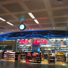 Photo taken at ATÜ Duty Free by Ceren U. on 3/12/2013