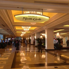 Photo taken at Monte Carlo Resort and Casino by Ekaterina E. on 9/24/2013