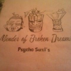 Photo taken at Psycho Suzi's Motor Lounge & Tiki Garden by Lisa M. on 5/12/2013