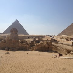 Photo taken at Great Sphinx of Giza | تمثال أبو الهول by Maleren W. on 9/14/2012