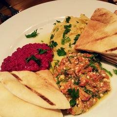 Photo taken at Kanella: Greek Cypriot Kitchen by Hannah S. on 4/3/2013