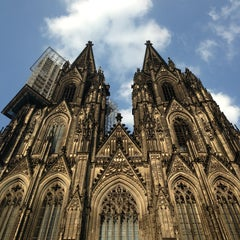 Photo taken at Kölner Dom by Frank A. on 7/15/2013