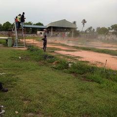 Photo taken at Stadium Sungai Besar by Akmal N. on 4/13/2013