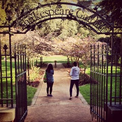 Photo taken at Shakespeare Garden by Rodrigo L. on 3/24/2013