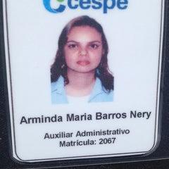 Photo taken at Cespe - Centro de Seleção e de Promoção de Eventos by Arminda N. on 11/18/2014
