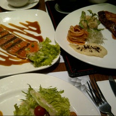 Photo taken at Gourmet Kemang by Aldi R. on 5/23/2015