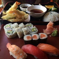 Photo taken at Sushi Avenue on the Square by LaTonya P. on 6/13/2015