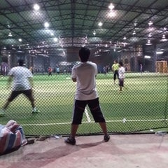 Photo taken at Futsal Masterscaff by Zubairi F. on 1/9/2014