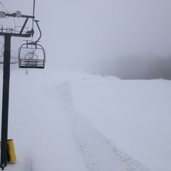Photo taken at Gunstock Mountain Resort by Katrina A. on 1/12/2013