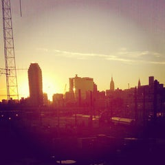 Photo taken at Sunnyside Yard by Scottie R. on 10/16/2012