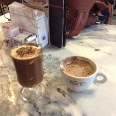 Photo taken at Fran's Café by Milena A. on 11/25/2013