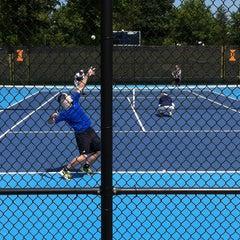 Photo taken at Atkins Tennis Center by Sarah H. on 8/10/2013