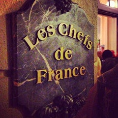 Photo taken at Les Chefs de France by Jefferson N. on 12/8/2012