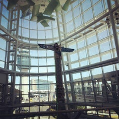 Photo taken at Vancouver International Airport (YVR) by Nada C. on 7/6/2013