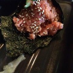 Photo taken at Kura Sushi by Desiree V. on 4/18/2014