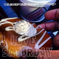 Photo taken at Krispy Kreme Doughnuts by Michael P. on 2/22/2014