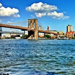 Photo taken at South Street Seaport by Heavy on 7/18/2013