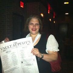 Photo taken at The Vault at Pfaff's by Carolina on 5/2/2013