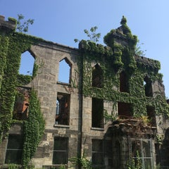 Photo taken at Smallpox Hospital by Andrea M. on 7/27/2015