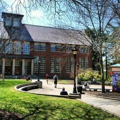 Photo taken at Dimond Library by Jason B. on 4/13/2012