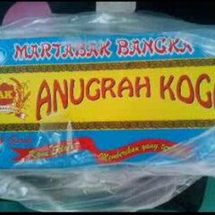 Photo taken at Martabak Bangka Anugrah Koga by Elita F. on 11/7/2013