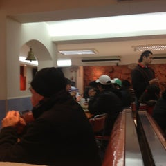 Photo taken at Taqueria Arandas by Liliana S. on 1/18/2013