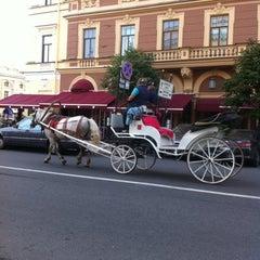Photo taken at Belmond Grand Hotel Europe / Гранд Отель Европа by Irina K. on 7/29/2013