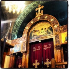 Photo taken at St. Mark's Church | كنيسة مارمرقس by Marina F. on 11/1/2013