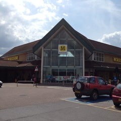 Photo taken at Morrisons by Rich M. on 6/22/2014