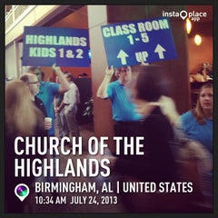 Photo taken at Church of the Highlands by Darren F. on 7/24/2013
