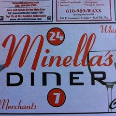Photo taken at Minella's Main Line Diner by Stacy F. on 2/9/2013