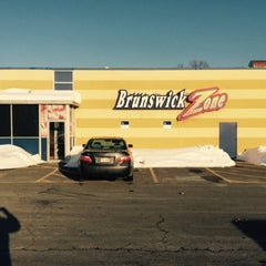 Photo taken at Brunswick Zone - Lowell by R on 2/20/2015